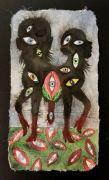 Lille Gespenst  - 50,1x28 cm, Akvarel og tusch på japanpapir, 2019